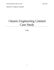 Ontario Engineering Limited Case Study[1]