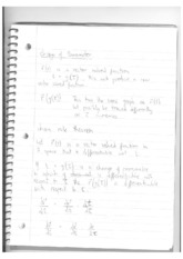 MAT 251 Lecture 1 Notes