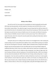 Pritchett John Research Paper