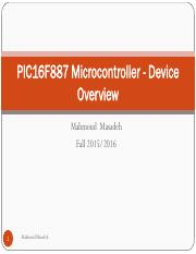 2-PIC16F887 Microcontroller - Device Overview1111