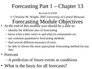 4. Forecast Intro Part 1a