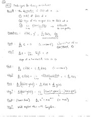 Finding Derivatives and derivatives of products and quotients
