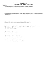 blank Exam 3 Study Guide