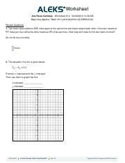 Worksheet 12