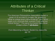 W2-a-attributes of a critical thinker
