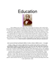 Horace Mann Education