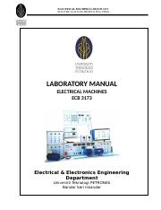 Electrical Machines 1 Lab Manual May 2016.doc