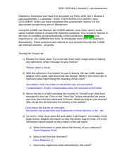 bios242 lab 1 Bios242 lab 1 essay 755 words | 4 pages weekly ilab ilab: exploring the microbiology lab section 1 lab safety 1 there are four safety equipment items that a lab.