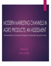Modern Marketing Channels in Agro Products An Assessment.pdf