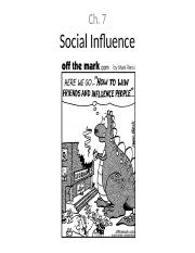 Ch 7 - Social Influence notes.ppt
