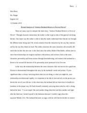 Textual Analysis essay final draft
