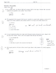 EECE 261 MATH 264 Quiz 3 solutions questions 1 2 3