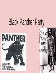 Black Panther Party &. Brown Berets .pptx