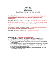 Phys 402 Discussion 3