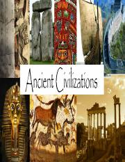 Ancient Civilizations- PACKET 1.pptx