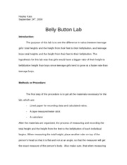 bellybutton lab