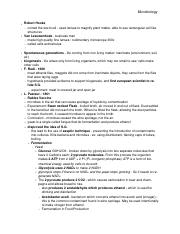 Microbiology notes ELAC  1-31  word