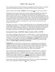 essay questions quiz describe posttraumatic stress disorder  3 pages psyc100umuchybridessayassignmentleftbrainrightbrain 1