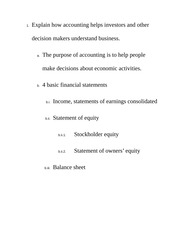 Finanical Accounting ClassNotes2