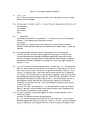 Chapter 6 Conceptual Questions Solutions