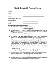 05_Electric Potential