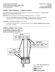IDE 310 ASSIGN 2  Block diagrams.docx