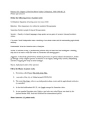 Chapter 2 Worksheet