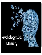 Psych 100-Lecture 11-Memory-Post.pdf