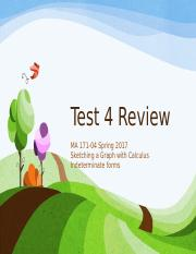 Test Review 4
