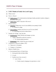 HDFS Test 3 Notes.docx