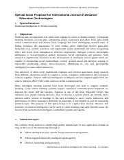 IJDET-Special_Issue_Proposal_Sample.doc