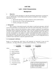 Background - Airfoil Characteristics.docx