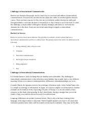 Unit 3 Intellipath - Challenges in International Communication.docx