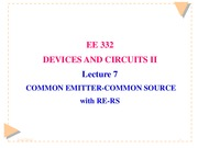 Lecture 7 CE-CS with RE-RS