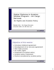 Air Cargo Services Part 4 - Air Rights and Aviation  Policy.pdf