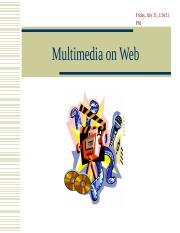 MM7 Multimedia on Web.ppt