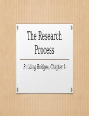 ENG 112 Building Bridges Chapter 4 The Research Process(1)(1).pptx