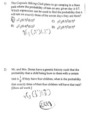 More Probability Practice