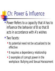 Ch Power & Influence(1).ppt