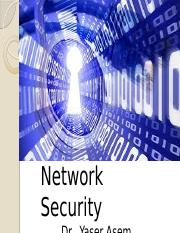 Network Security-lecture1