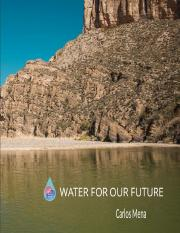 Water for our Future