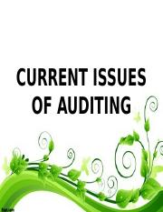 CURRENT ISSUES OF AUDITING.ppt