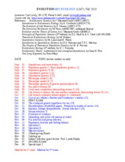 L567 syllabus current