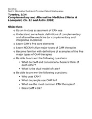 3-24-Complementary & alternative medicine-overheads-2