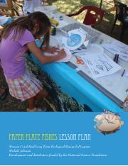 Paper Plate Fish Lesson Plan