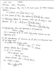 PHY 471 Lecture Notes (11/6/2015)