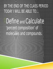 4.3_Percent_Composition_Empirical_Molecular_Formula_ppt