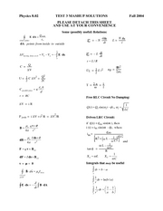 Exam3_2004Fall_Solutions