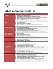 What Recruiters Look For_Handout.docx