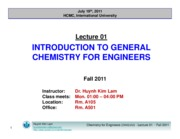 Lecture 01_Intro to Genernal Chemistry for Engineers